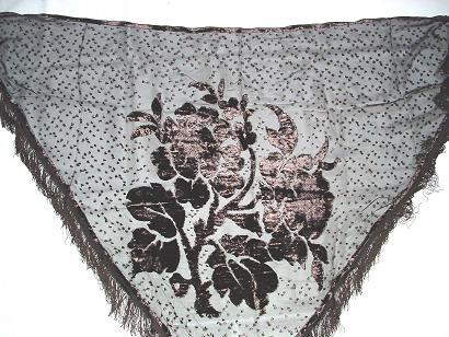 Chales en velours faconne for Bouquet de fleurs wiki